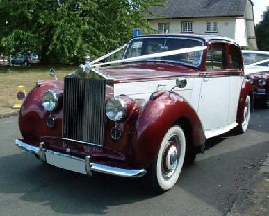 Regal Lady - Rolls Royce Silver Dawn Hire